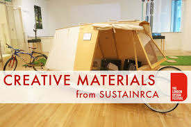 innovative materials sustainrca showcases innovative materials and new ways of living