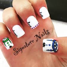 latest sns nail design by lee yelp