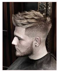 mens hair short sides long bangs also best short haircut men 2017