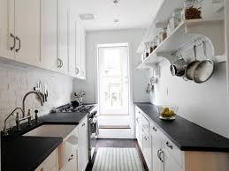 Corridor Galley Kitchen Layout by Interior Designers In Kerala