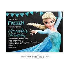 53 best frozen birthday invitations images on pinterest frozen