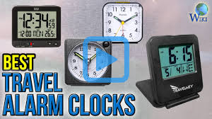 Cool Digital Clocks by Top 10 Travel Alarm Clocks Of 2017 Video Review