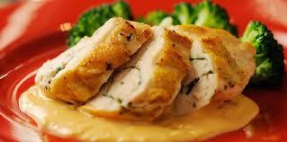 comment cuisiner des escalopes de poulet escalope de poulet roulée aux herbes facile et pas cher recette