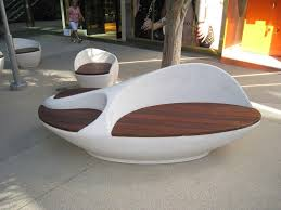 sculptural bench with ipe seating pics marvelous outdoor bench