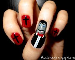 Vampire Nail Art 40 Great Nail Art Ideashalloween Jeanetteically