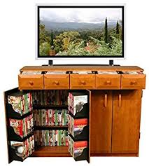 media cabinet with drawers amazon com venture horizon media cabinet with drawers cherry