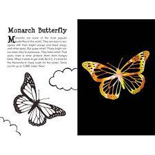 scratch and sketch butterflies and friends art activity book
