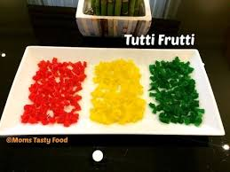 tutti cuisine how to tutti frutti at home tutti frutti recipe candied fruit