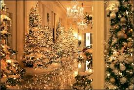 white house decorations 2004