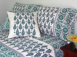 Duvet And Pillow Covers Indian Bedspreads Block Print Bedspread From India Handmade