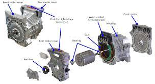 nissan leaf heat pump 2013 nissan leaf integrated e powertrain a smaller lighter