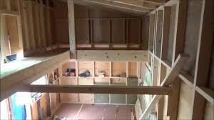 Loft Houses by Finishing My Tiny House Loft S2 Youtube