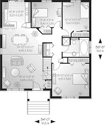 one cabin plans floor plan cabins lake mini wrap house plan single