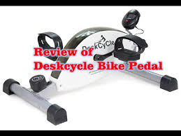 Under Desk Pedal Exerciser Review Of Deskcycle Desk Exercise Bike Pedal Exerciser Youtube