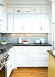 ideas for white kitchen cabinets grey and white backsplash sowingwellness co