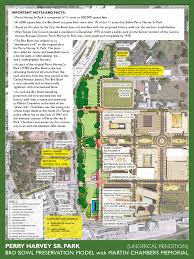 Perry Florida Map by Vision Of The Future Perry Harvey Sr Park And The Bro Bowl