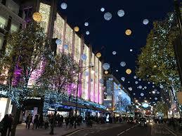 origin of christmas lights oxford street wikipedia