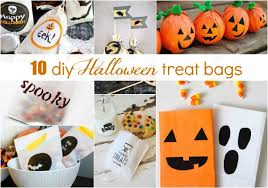 it u0027s in the bag 10 diy halloween treat bag ideas celebrations