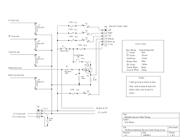 wiring diagram small utility trailer with brakes fair for lights