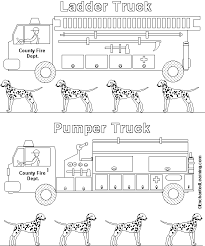 fire truck coloring enchantedlearning