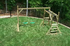 Backyard Swing Set Ideas by Backyard Playground Hand Crafted Wooden Playsets U0026 Swing Sets