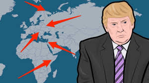 The World Map Trump Is Not Alone U2014 Animated Map Shows 6 Border Walls Being Built