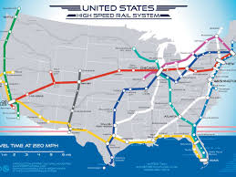 Chicago Railroad Map by Map Of American High Speed Rail Network Business Insider