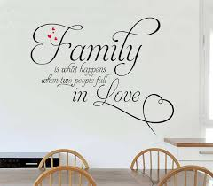 family is what happens quotes wall stickers quotes wall decals