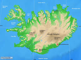 Iceland Map Location Iceland Physical Map A Learning Family