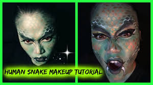 halloween snake human snake makeup tutorial halloween series candy u0027s rouge