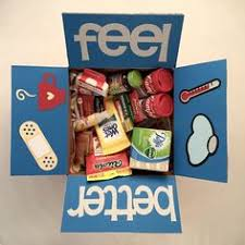 care package for sick a get well basket for my sick medicine candy drink soup