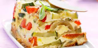 cuisiner la courgette flan de courgette et poivron facile et pas cher recette sur