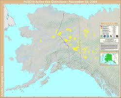 Alaska On A Map by 2004 Alaska Wildfires Wikipedia