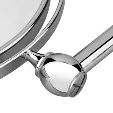 8 inch magnifying wall mounted makeup mirror chrome bathroom dual