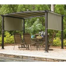 Replacement Pergola Canopy by Sears Garden Oasis Curved Pergola Replacement Canopy Pretty