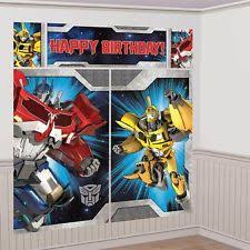 transformers birthday decorations transformers birthday child party supplies ebay