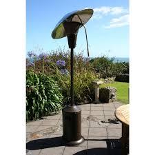 gas heaters for patios 38 200 btu bronze heat focusing propane gas patio heater