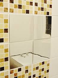 incredible bathroom mirror stickers children brush teeth decal