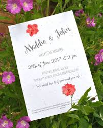 plantable wedding invitations seed paper wedding invitation eco friendly wedding invitation