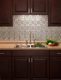 Kitchen Mosaic Backsplash Ideas by Faux Tile Backsplash Wallpaper Floor Decoration