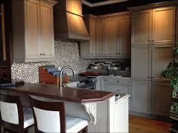 brick tile backsplash kitchen kitchen neutral backsplash tile kitchen backsplash pebble
