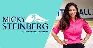 micky steinberg miami beach commissioner
