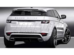 range rover evoque rear rover range rover evoque c2 rear bumper
