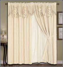 double curtain rods 120 inches curtains home design ideas