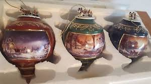 the bradford exchange terry redlin heirloom porcelain ornament
