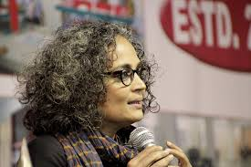 relief for arundhati roy as supreme court stays criminal contempt