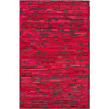 Red Patterned Rug Ecarpetgallery Red Wool Cotton Handmade Ottoman Yama Patchwork Rug