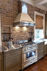 kitchen brick backsplash brick backsplash for kitchen katecaudillo me
