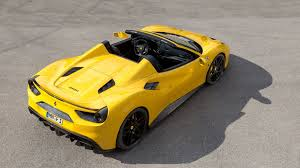 ferrari 488 modified novitec rosso pushes the ferrari 488 spider to 772 horsepower