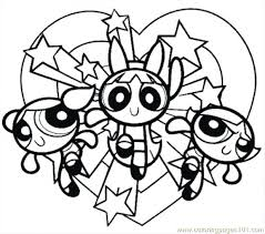 coloring pages halloween costumes girls power puff pumpkin